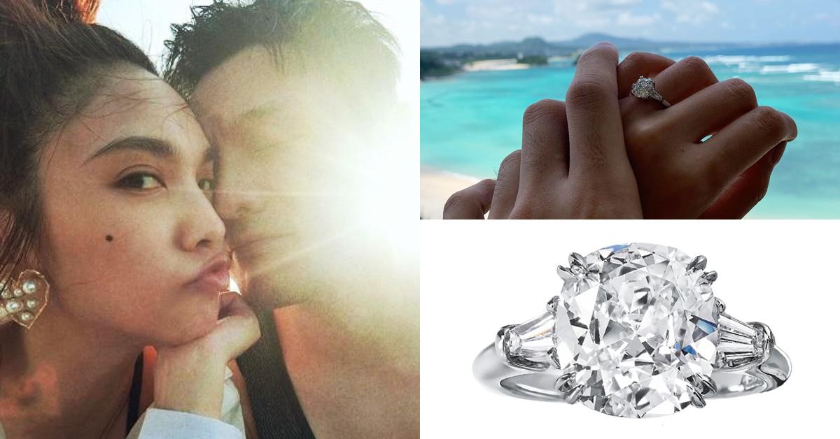 李榮浩用「Harry Winston婚戒」跟楊丞琳求婚!還有這些名人也選鑽石之王