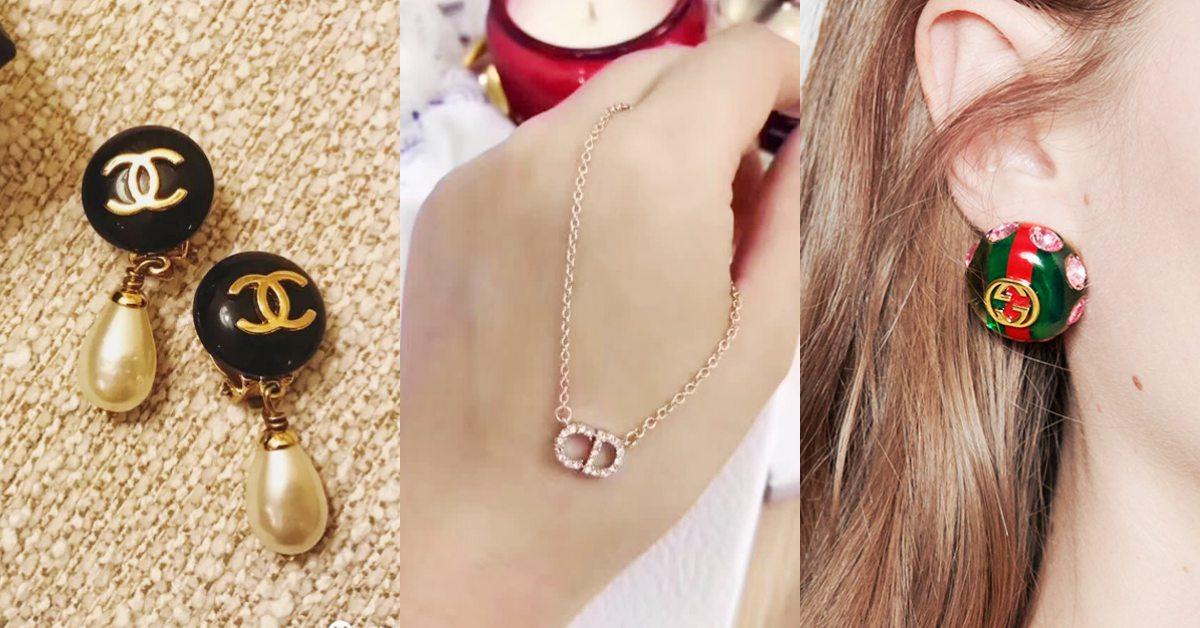Logo珠寶翻紅!Gucci、迪奧或香奈兒耳環、項鍊推薦,萬元內入手精品這樣買