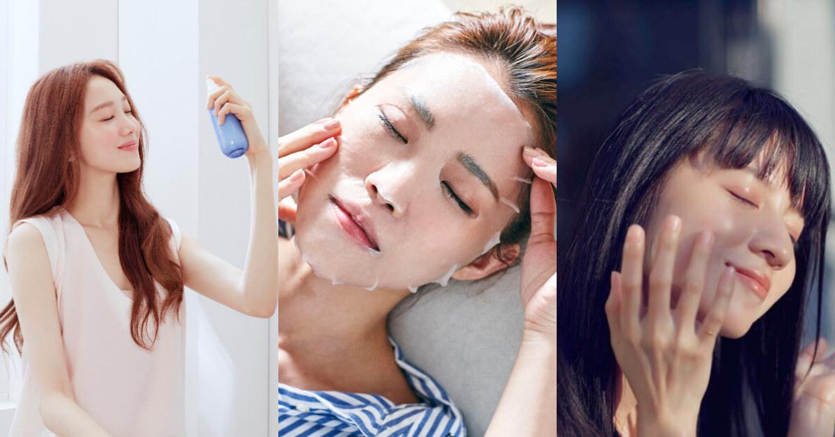 夏天肌膚不聽話,頻脱妝脫皮?韓妞「5水保養法」學起來跟土石流說掰掰