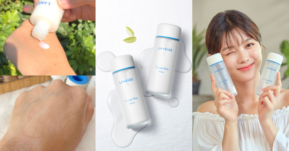 韓國女生秋天保養全靠它!每5秒賣出一瓶的蘭芝牛奶水,去黑滋潤3天喚回BABY肌