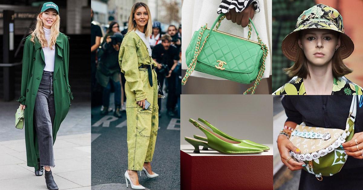 2020年各種「綠色」超有質感!Chanel、Tod's、LV...10樣單品美得冒泡