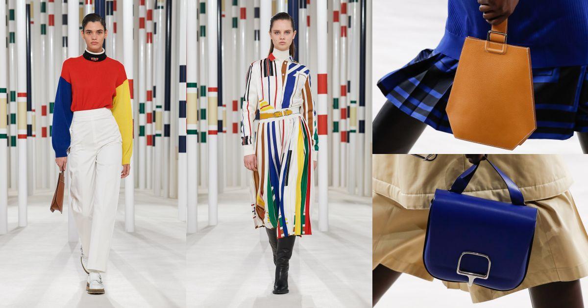 「美麗必須與實用並存。」Hermès創意總監推翻時尚一定不實穿!2020年秋冬大秀這2款包將成新經典?