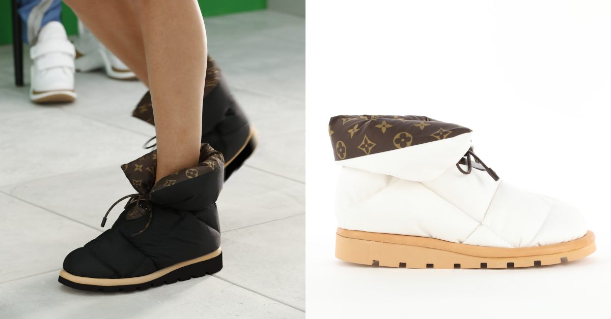 LV短靴推薦這雙!「枕頭鞋」造型IG洗版,下雨下雪一鞋搞定