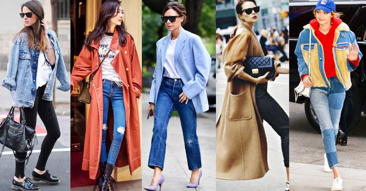 冬天就是要偷穿男友外套!看貝嫂、超模示範這3種「Oversize」外套穿搭術