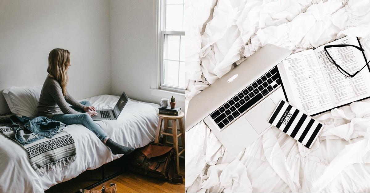 床上工作成為風潮!舒適躺床背後:你拿什麼犧牲了健康?