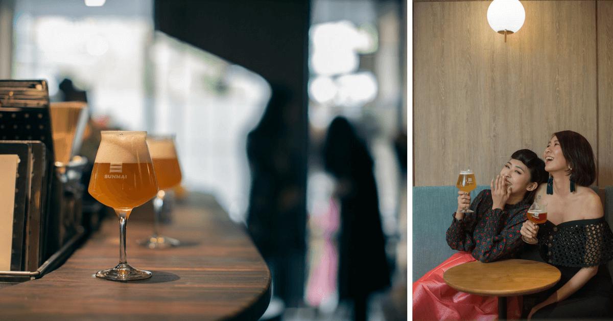 下班後的微醺時光!「金色三麥」安和街邊店12/28開幕 與朋友Share精釀啤酒與豐富小食,200元內就可盡享優質氛圍!