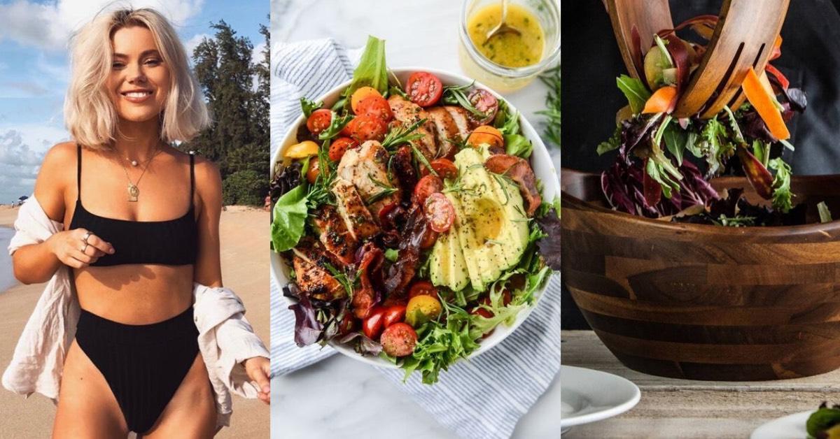 吃沙拉減肥?5個吃沙拉小訣竅,營養師搭配的美味菜單推薦,小心熱量來自於「它」!