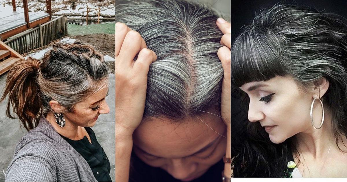 年紀輕就長出白髮請注意!從3個「白髮生長位置」反映你的身體警訊,加碼養出黑髮的8個方法