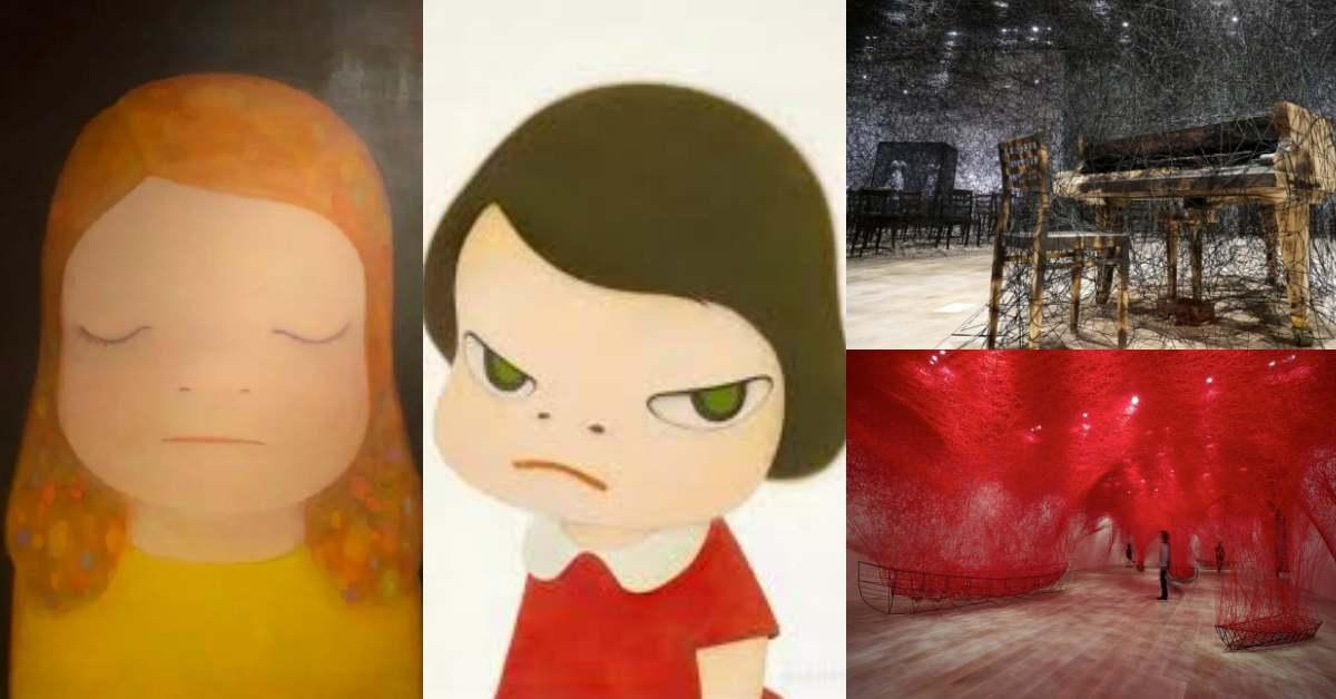 2021展覽推薦《奈良美智》、《塩田千春》!日本當紅藝術家台北首度開展,必看預告大公開!
