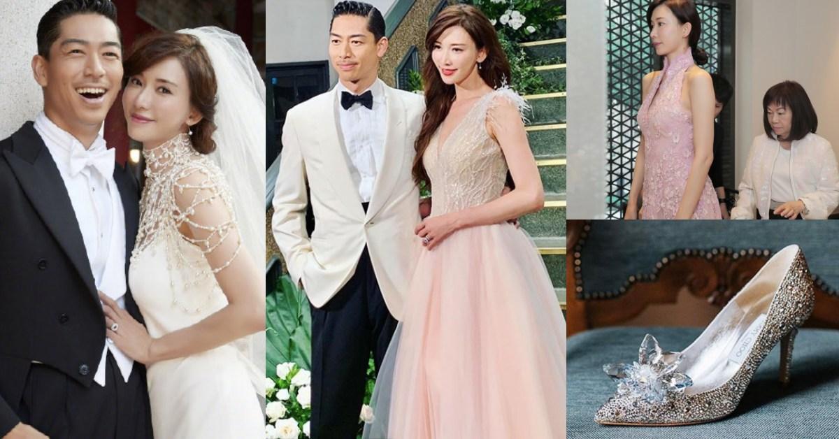 林志玲美得像公主!世紀婚禮行頭不忘台灣品牌,白紗、婚戒、禮服、婚鞋品牌大公開