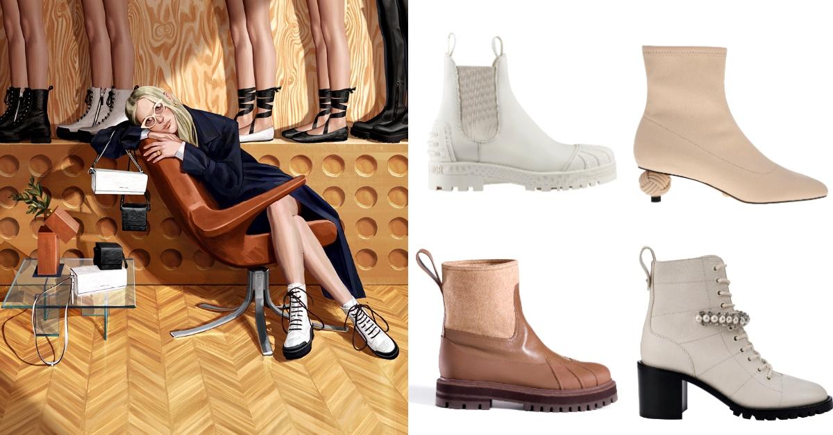 2020秋季短靴Top 10率先看!LV、Dior、Gucci...穿出+5cm逆天長腿就靠它