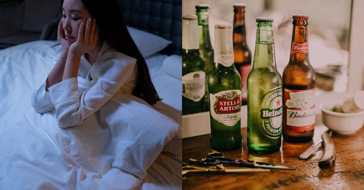 睡不好怎麼辦?睡前避開這7種食物,「喝酒」不一定會讓你好睡,青花椰菜 、芹菜會讓你腹脹