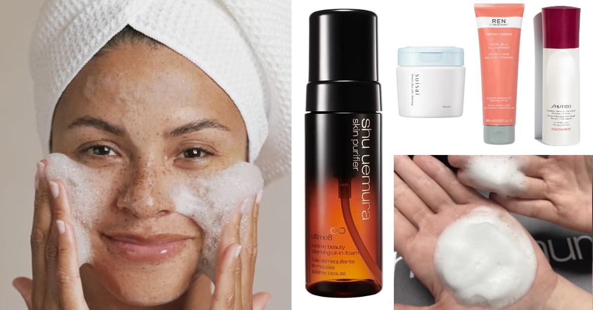 99%混油皮台灣人用錯卸妝品!破解爆痘迷思,你更適合這7款療癒系「洗卸慕斯、卸妝凍」!