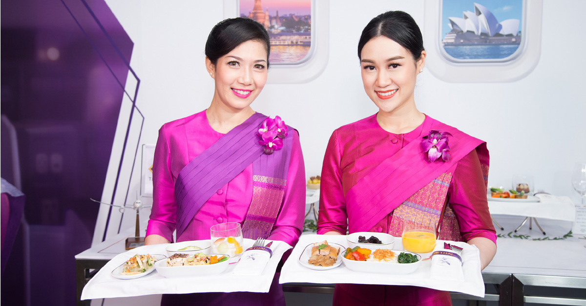 泰國航空與台北文華東方攜手 米其林饗宴閃耀啟航