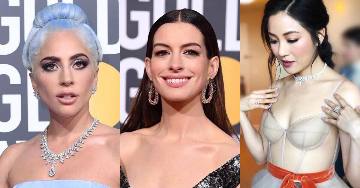 2019金球獎妝容解析!女神卡卡、安海瑟威不擦紅唇,女星們改擦「這色」展現優雅氣質