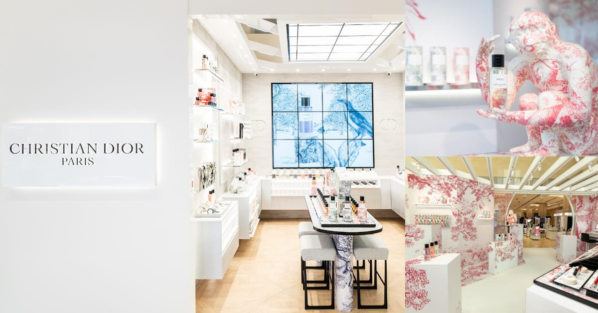 Dior香氛世家專門店高雄登場!巴黎店1:1還原,度假限量快閃店同步展開