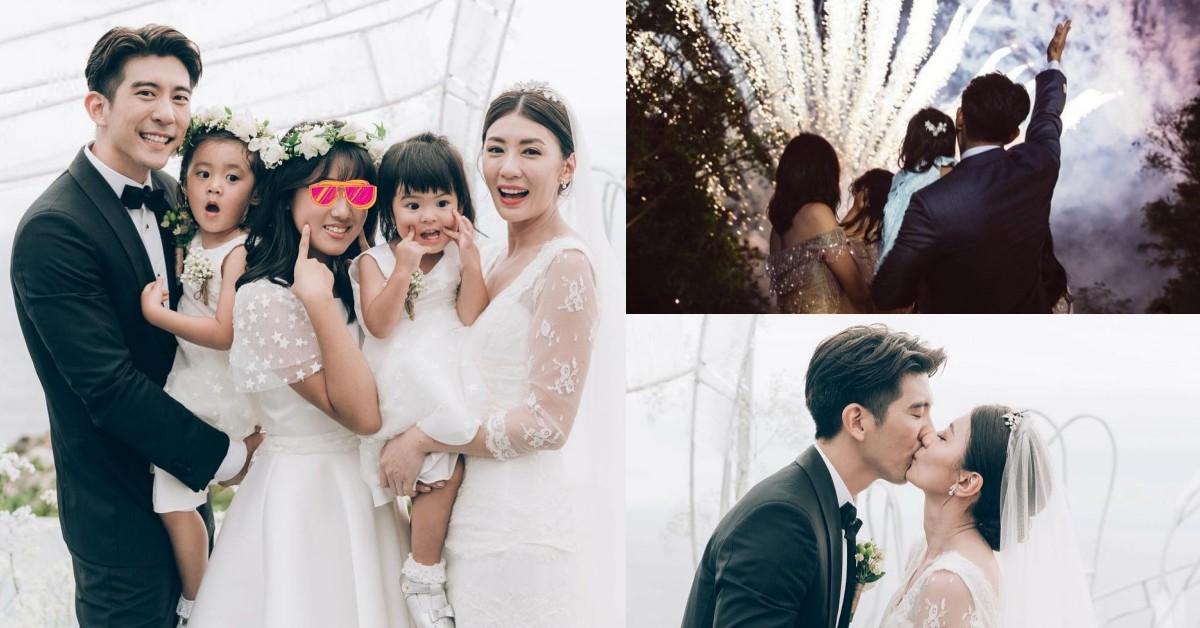 賈靜雯終於嫁給了愛情!老公修杰楷寵妻霸氣5宣言引人淚崩