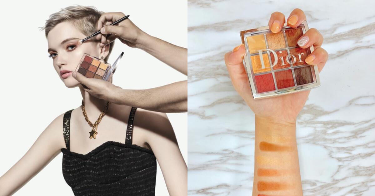 2019春夏眼彩推薦「焦糖琥珀」色!走進Dior時裝週後台模特兒搶先擦上