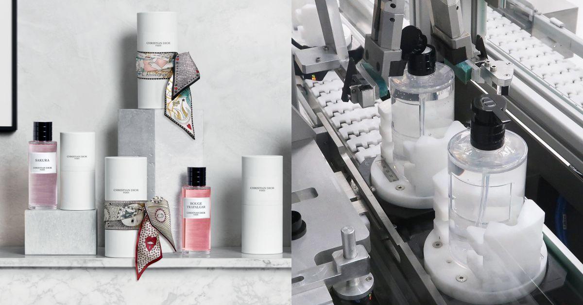 Dior抗菌乾洗手誕生! LVMH防疫不遺餘力, 旗下工廠全面停產香水力挺歐洲抗疫