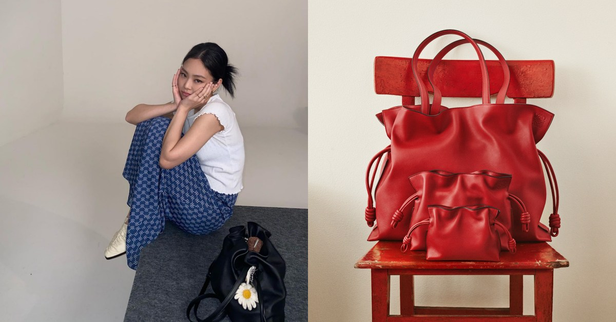 Loewe Flamenco包包狂賣37年!迷你小廢包到OL通勤包,BLACKPINK Jennie也難擋魅力