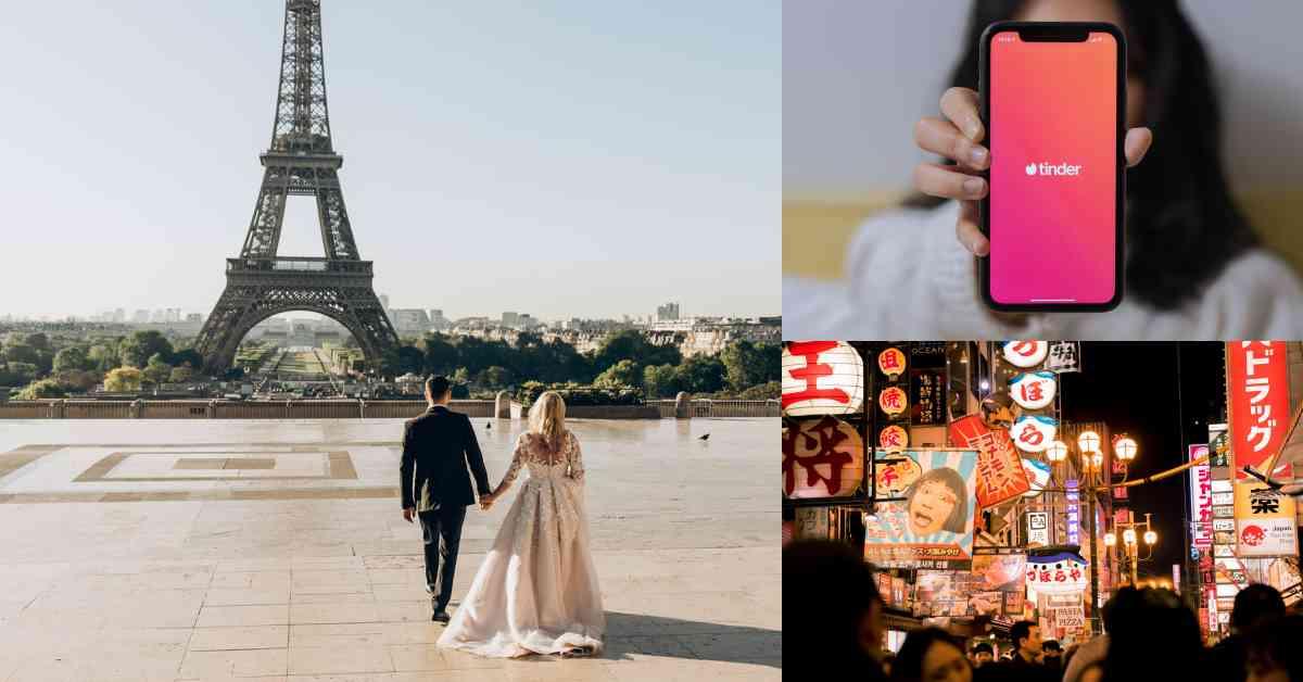 【慾女駕到】全球最受歡迎的「異地戀國家Top10」!亞洲第一是日本,浪漫之都巴黎上榜不意外!