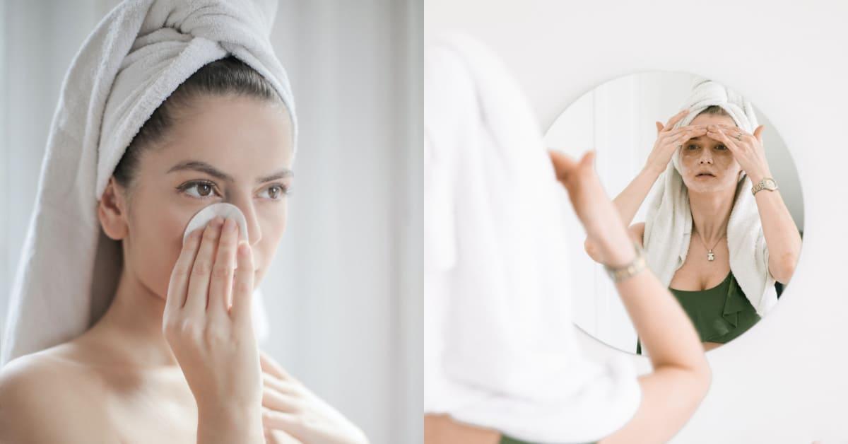 卸妝方式得看季節!專家驚爆3大卸妝重點,乾性肌洗澡時同步卸妝更有效率