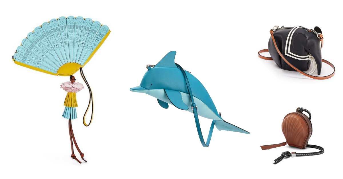 Loewe根本是怪包製造機!大象包、兔子包到章魚包還不夠看,最新推出的「折扇包」真的太可愛!
