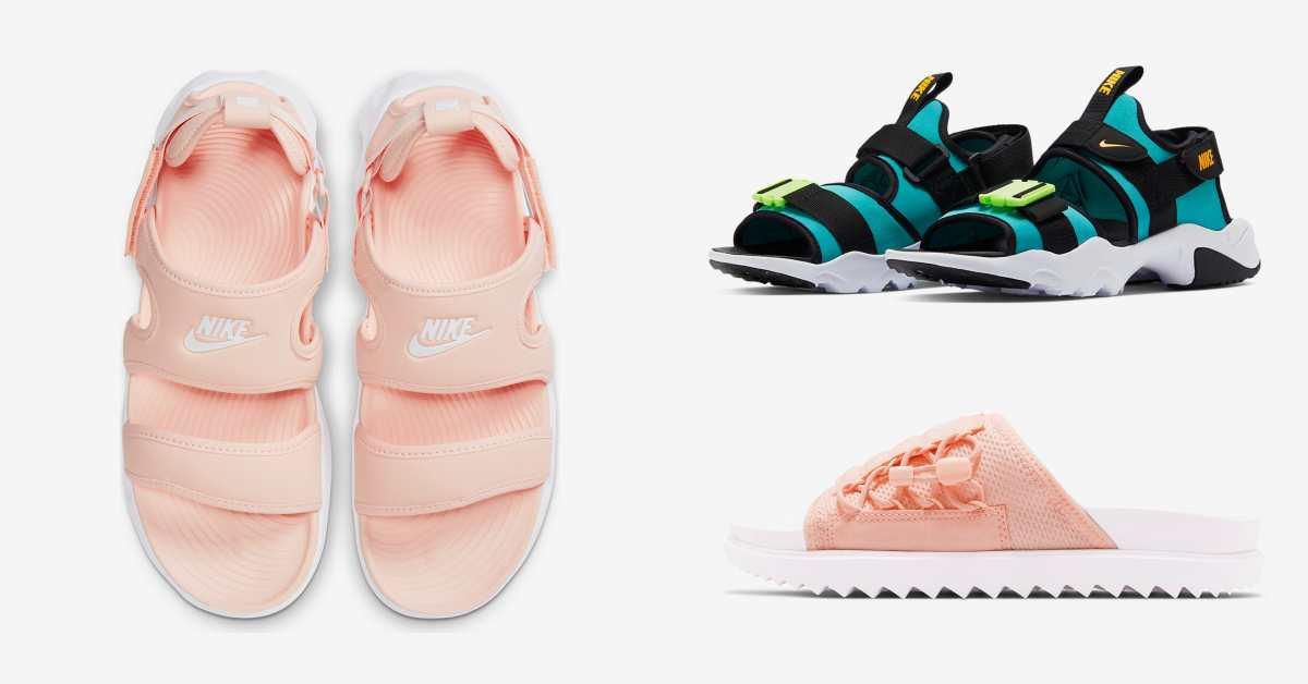 Nike珊瑚粉、湖水綠系列涼鞋真的太夢幻!厚底增高設計好穿還能擁有大長腿!