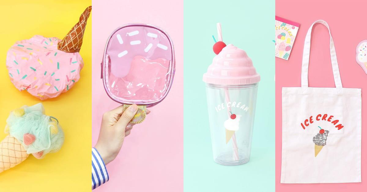 韓國大創「夏日冰淇淋系列」超療癒馬卡龍色系登場!文具、日常小物推薦