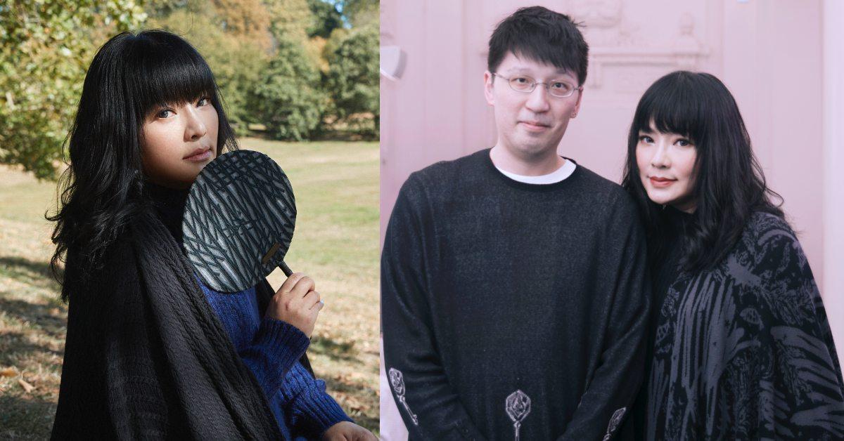 國師唐綺陽秘密大公開!與設計師APUJAN誇下減40公斤豪語,盼能穿上2020 春夏系列