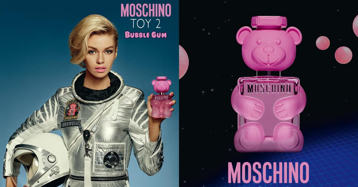 Moschino香水「粉紅小熊」品牌首款純素配方,天然無毒、花果香聞了都牙疼