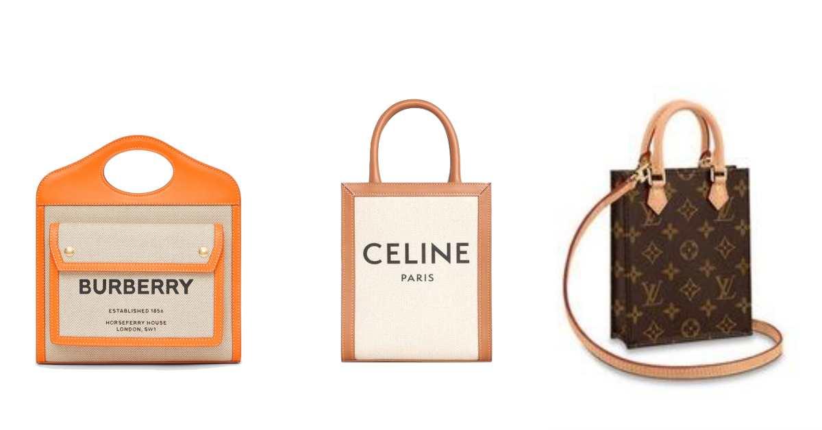 楊丞琳、孫芸芸瘋搶的帆布包全縮小了,LV、Celine到Burberry熱賣經典帆布包全化身迷你版!