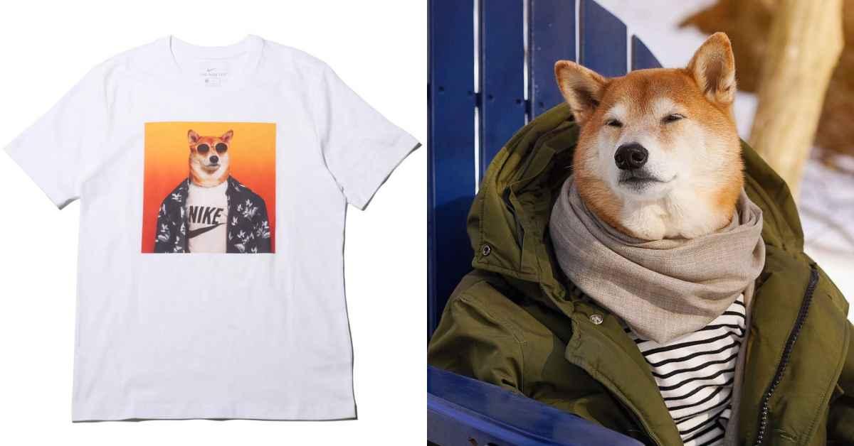 誰能比這隻「柴犬」更會穿?IG爆紅穿搭神犬與NIKE推超狂聯名