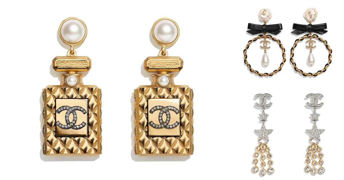 Chanel耳環也斷貨!水滴珍珠、迷你香水、經典Logo,工坊系列珠寶太搶手!