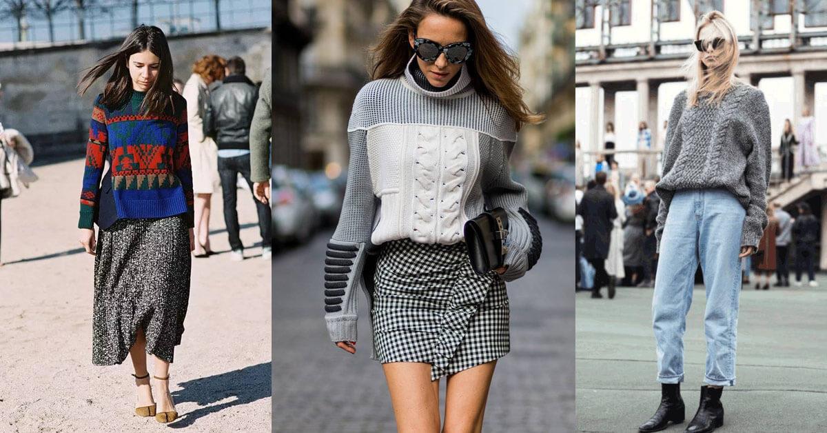 冬天就是要買毛衣,今年衣櫃必備的三款毛衣推薦