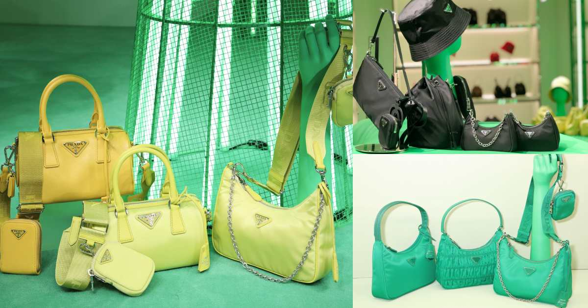 Prada全球斷貨包款只剩這裡有!101快閃店品牌熱賣腋下包全系列配色限定發售!