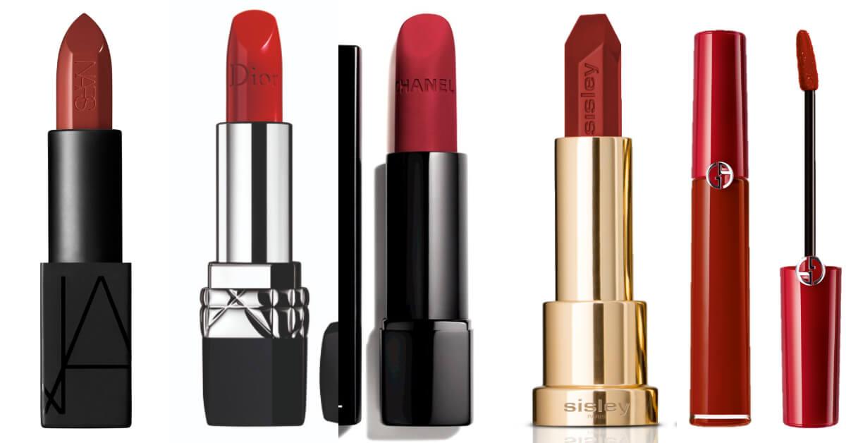 2018專櫃最賣紅色唇膏推薦,香奈兒、Dior、Nars網友跪求色號出爐!