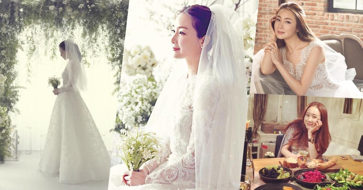 韓劇女王崔智友婚紗照太美,42歲依舊擁有少女般美肌和體態!凍齡友姐就靠「這3招」維持女神狀態!