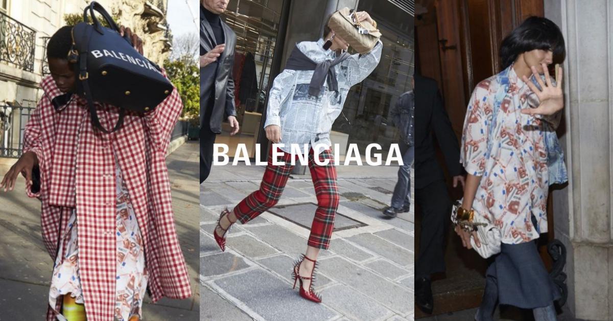 假裝被狗仔街拍才時髦!學學《巴黎世家》新廣告的拍攝Idea就能走在時尚尖端
