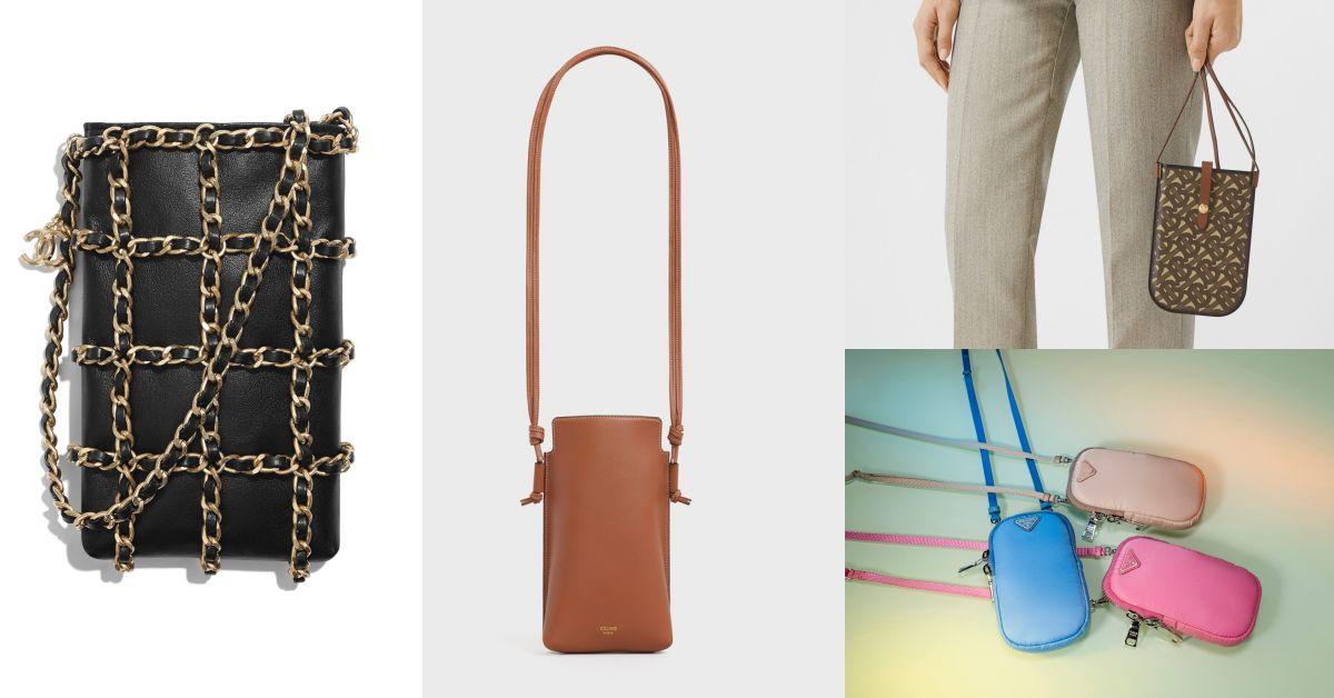 小包也能很實用?從Chanel、Burberry到Prada都在狂推的「手機包」妳跟上了嗎?