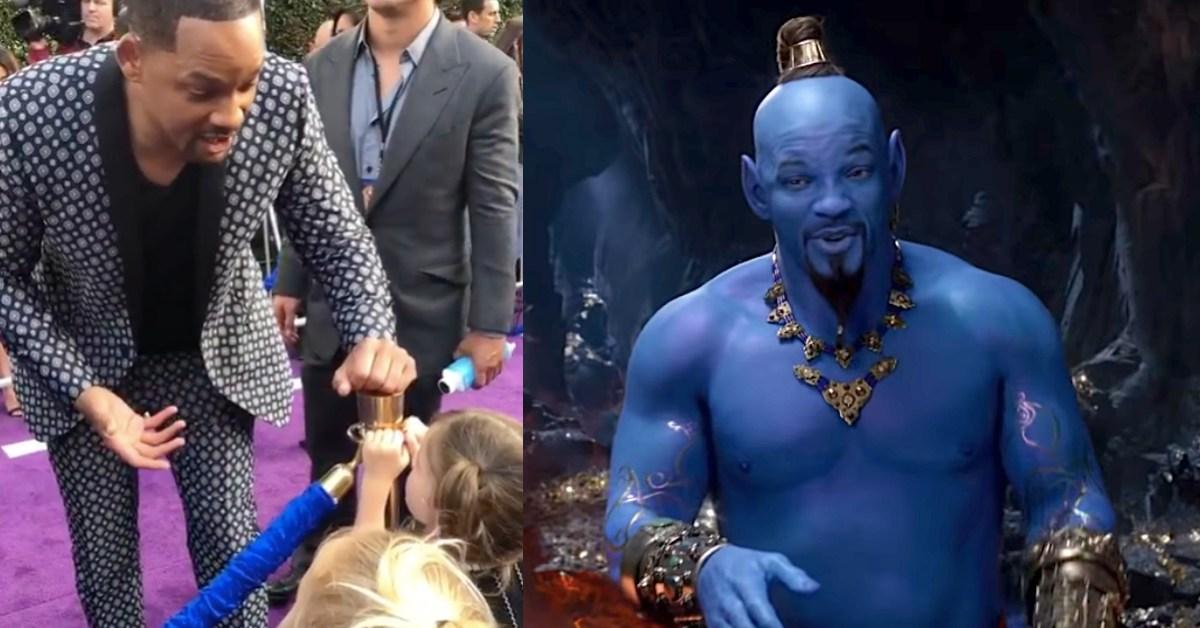 女孩問「你的魔法呢?」《阿拉丁》威爾史密斯回應被讚爆!回顧好萊塢巨星的超暖事蹟