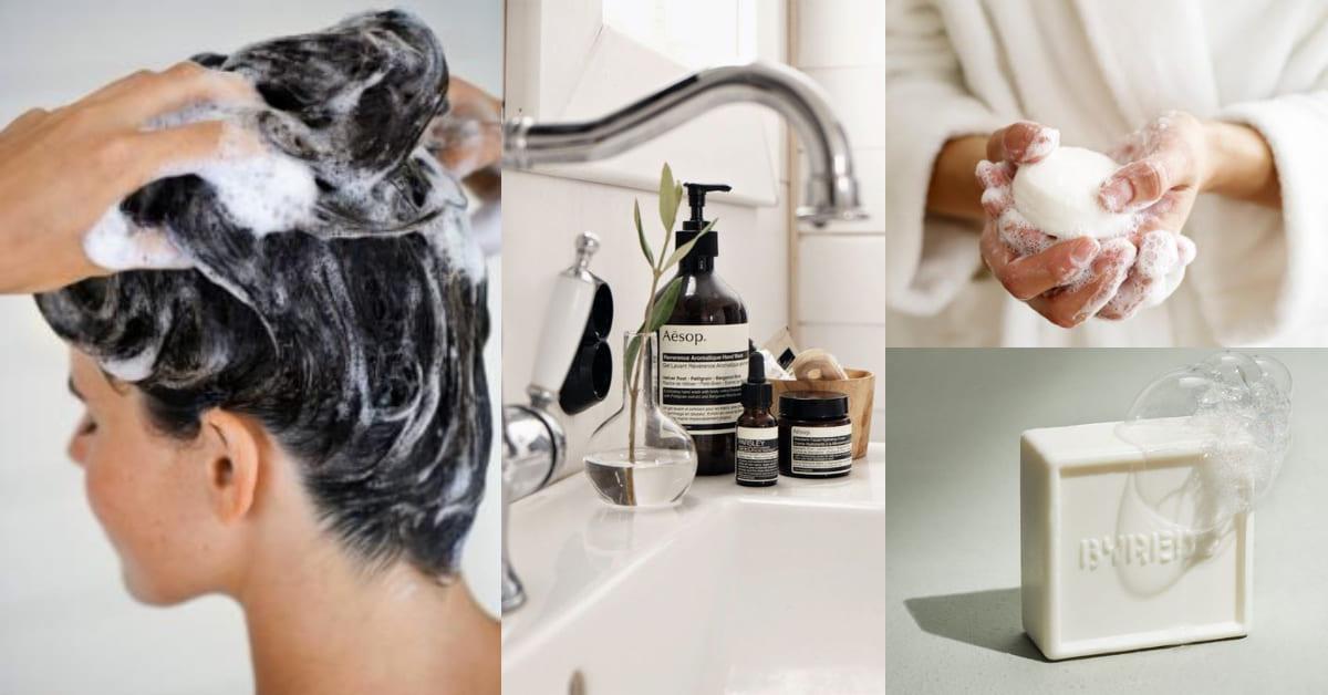 洗頭皂、洗髮粉比控油洗髮精還有效?洗髮產品該怎麼挑,原來妳適合的是百年老方法