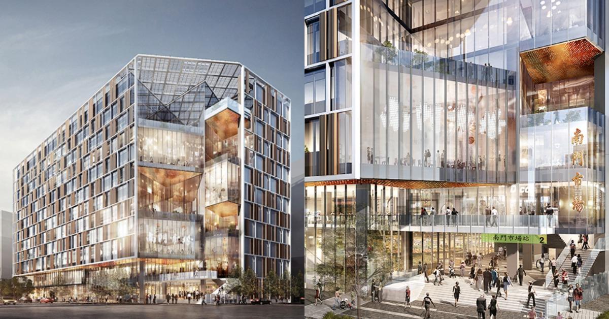 台北「南門市場」大變身!媲美百貨公司等級建築,以後買菜也超級時髦