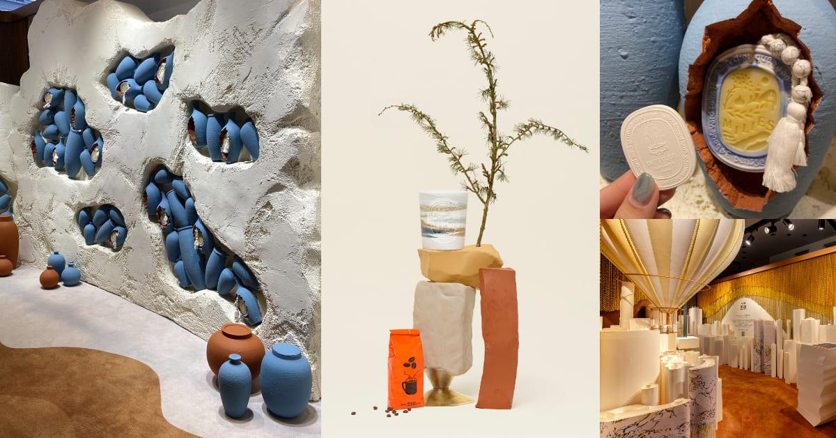 Diptyque香水帶你環遊世界!60週年限量壯遊系列限時14天展開,首場香氛展覽紀錄5座城市風光