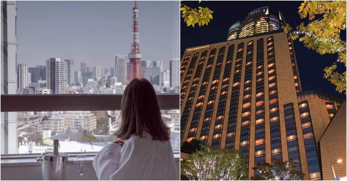 房間內就能遠眺東京鐵塔!矗立於東京的「君悅飯店」在行家心中依舊No.1的原因是...