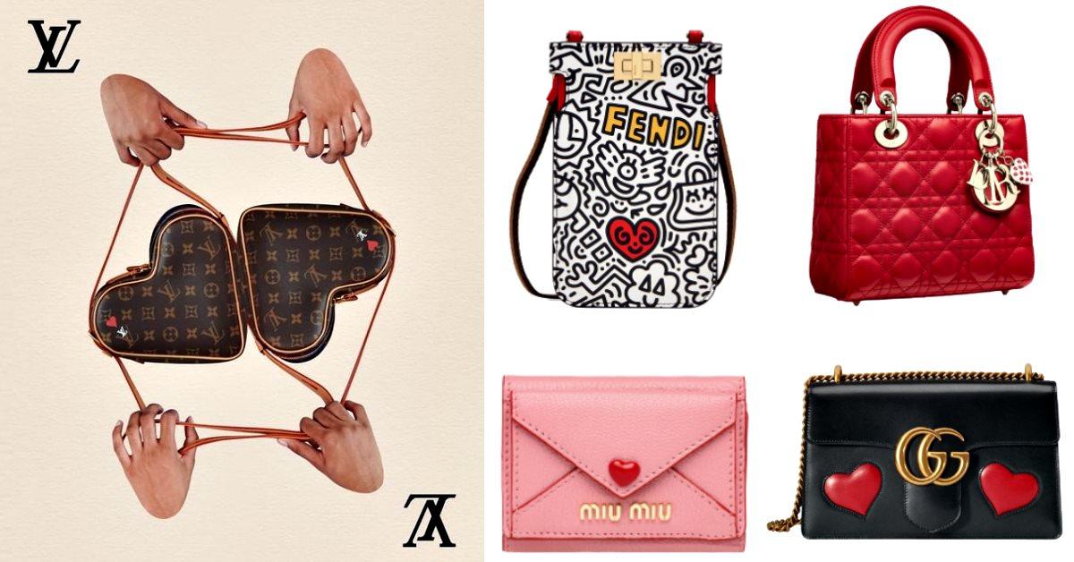 """2020包包要開始""""攻心""""10款「心型」美包甜到爆,LV、Gucci、Dior...狙擊所有浪漫少女!"""