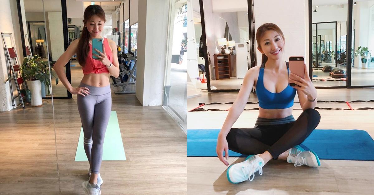 生了2個小孩竟還有腹肌!美女健身教練教你,在家也能「這樣」打造緊實好身材