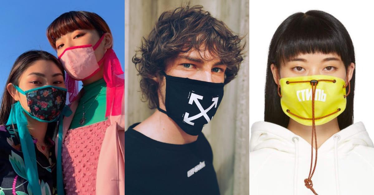 連Off-White都有口罩!2020出遊必推5款口罩推薦,工裝、少女風、復古蕾絲…戴上瞬間成為搶眼焦點