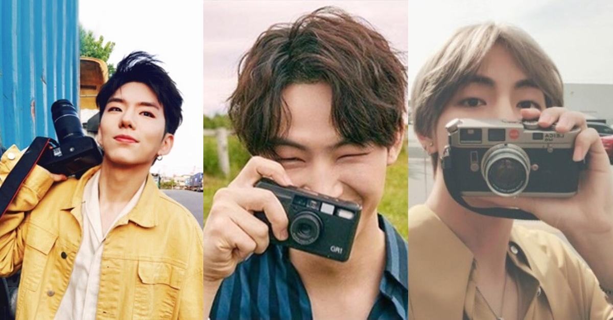 韓國偶像也太多才多藝!來看這6位被偶像事業耽誤的攝影師