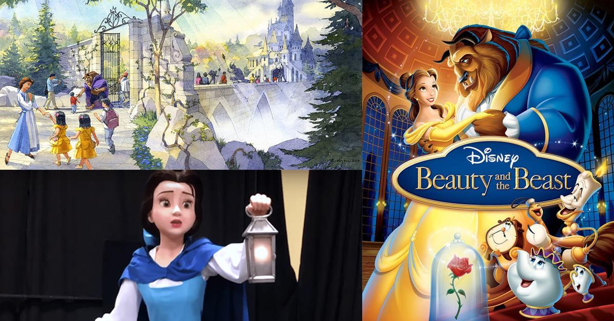 東京迪士尼的「美女與野獸」園區於2020開幕!100%神還原你的童年回憶
